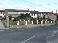 Barrière de clôture - 2 lices horizontales