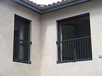 Garde corps de porte fenêtre