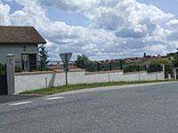 Barrière de clôture Anet avec fourreaux