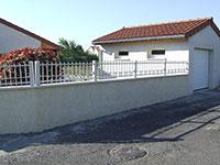 Barrière de clôture Anet avec ronds fermés