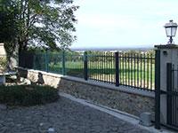 Barrière de clôture Anet avec fer de lance
