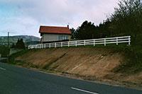 Barrière de clôture - 3 lices horizontales