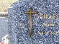 Croix pour stèle réf. 770