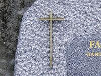Croix pour stèle  réf. 165