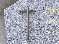 Croix pour stèle  réf. 620