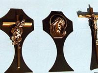 Diverses croix funéraires