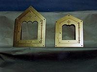 Portes de chapelle funéraire