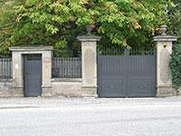Portail et portillon pivotant Amboise forme droit