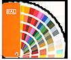 Des centaines de couleurs