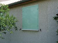 Volets de fenêtres 2 battants